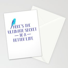 Here's The Ultimate Secret To A Better Life pb Stationery Cards