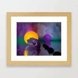 tulip and colors Framed Art Print