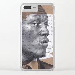 Shut Up Clear iPhone Case