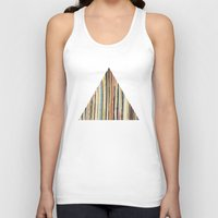 record Tank Tops featuring Record Collection by Cassia Beck