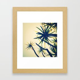 Palms on Palms Framed Art Print