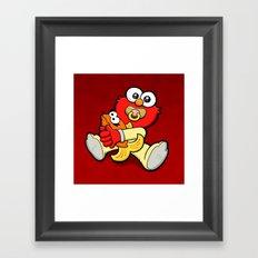 Baby Elmo & Dorothy Framed Art Print