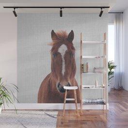 Horse II - Colorful Wall Mural