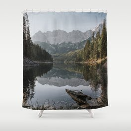 Lake View - Landscape and Nature Photography Shower Curtain
