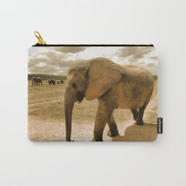 Wildlife big Elephant Carry-All Pouch
