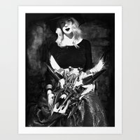 The Widow Art Print