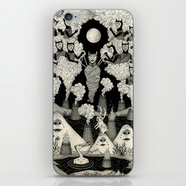 The Mountains Wept For Her iPhone Skin
