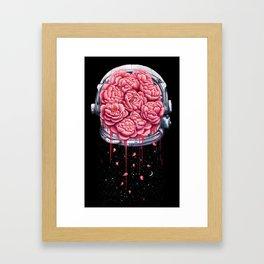 Cosmic peonies Framed Art Print