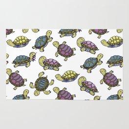Turtles on the lake Rug
