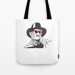 Freddy Only Has Eyes For You Tote Bag