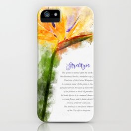 Strelitzia iPhone Case