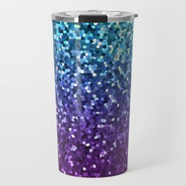 Mosaic Sparkley Texture G198 Travel Mug
