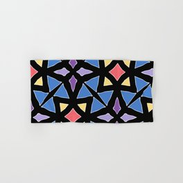 Stained Glass Color Pattern Art Hand & Bath Towel