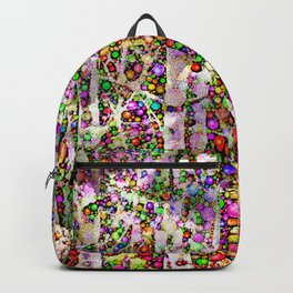 Frosty Christmas Branches Backpack