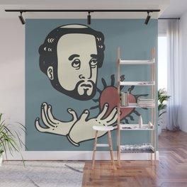 Francis Xavier(Blue) Wall Mural