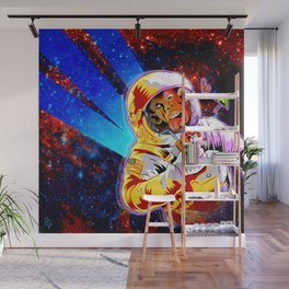 SPACE CHIMP Wall Mural
