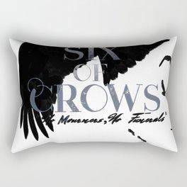 No mourners, no funerals Rectangular Pillow