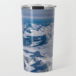 Aerial Glacier Four - Alaska Travel Mug