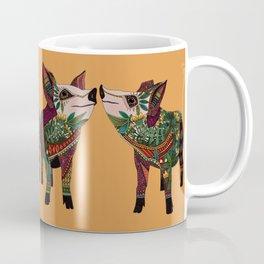 pig love amber Coffee Mug