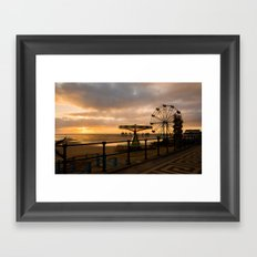Cleethorpes Sunrise Framed Art Print