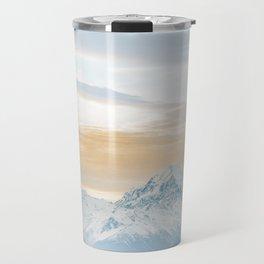 Mount Cook sunset Travel Mug