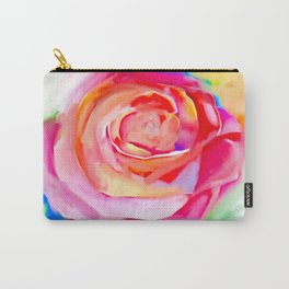 Colourful flower Carry-All Pouch