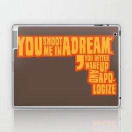 Shoot me in a dream Laptop & iPad Skin