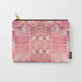 In Love - Rose-Gold Abstract Geometric Shapes Carry-All Pouch