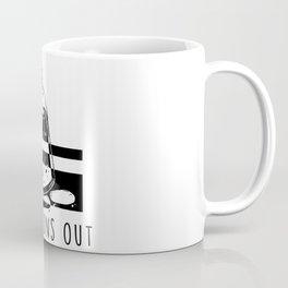 Luck Runs Out (White) Coffee Mug