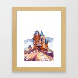Castle Eltz Framed Art Print