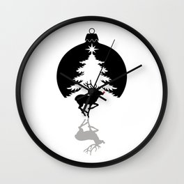 Christmas Wall Clock