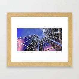 citylines -1- Framed Art Print