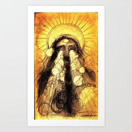 """Fire eyes"" Art Print"