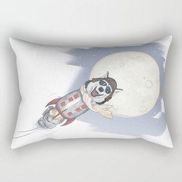 The cool Husky Pilot Rectangular Pillow