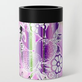 Psychedelic Paradise Can Cooler
