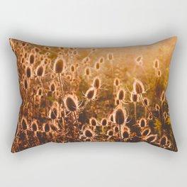 Field At Sunset Rectangular Pillow