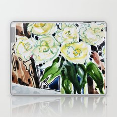Roses Blanches Laptop & iPad Skin