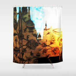 Halle in a Carpet Image 1 Shower Curtain