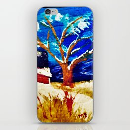 Winter In The Country iPhone Skin