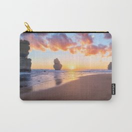 12 Apostles with Marshmallow Skies Carry-All Pouch