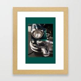 Head Lights Framed Art Print