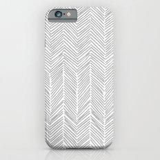 Freeform Arrows in gray Slim Case iPhone 6s