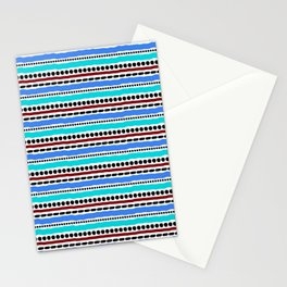Lines and Dots 2 Stationery Cards