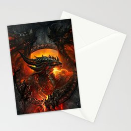 Hell Dragon Stationery Cards
