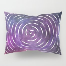Galactic spin Pillow Sham