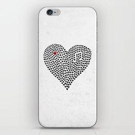 Heart of Bold iPhone Skin