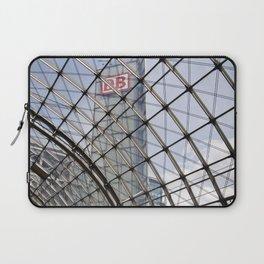 train station of glass in Berlin Laptop Sleeve