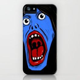 Shining Scream iPhone Case