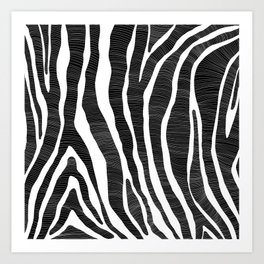 Natures Pattern 01 Art Print