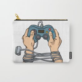 Hands tied by wire Carry-All Pouch